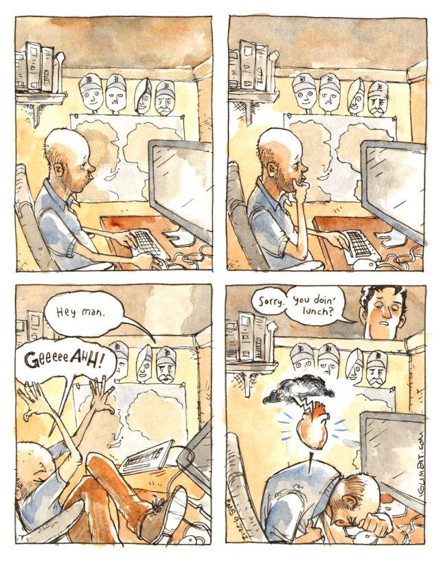An Office Heart Attack